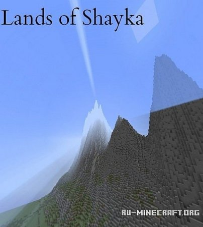 Скачать  Lands of Shayka для Minecraft