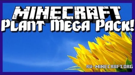 ������� Plant Mega Pack ��� Minecraft 1.8