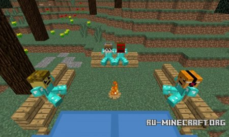 ������� Camp Fire ��� Minecraft