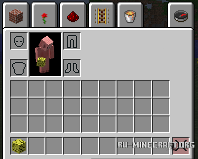 ������� All-U-Want Inventory Editor ��� Minecraft 1.7.10