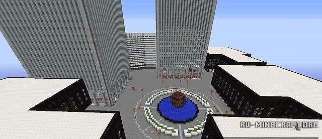 Скачать twin towers of the world trade center для minecraft