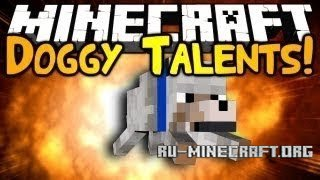 Скачать Doggy Talents для Minecraft 1.8