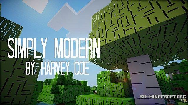 Скачать Simply Modern [x64] для Minecraft 1.8: ru-m.org/tekstur-paki-minecraft/page/9