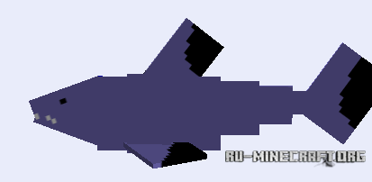 скачать мод для майнкрафт 1.7.10 на акул