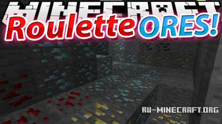 ������� Roulette (Lucky) Ores ��� Minecraft 1.7.10
