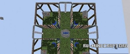 �������  The Holy Sword's Revenge - Walls Map ��� Minecraft
