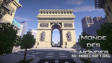Скачать World of Worlds для Minecraft