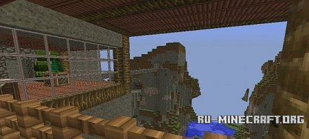 �������  House on Hill ��� Minecraft