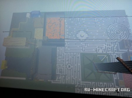 Скачать (PS3 Edition) A Maze in Grace-Most Exciting Ever Built для Minecraft