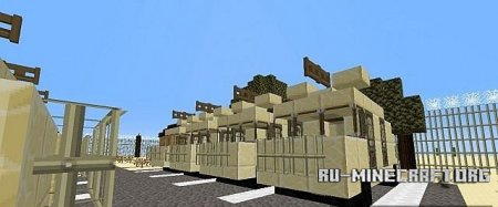 ������� Military Combat Base   ��� Minecraft