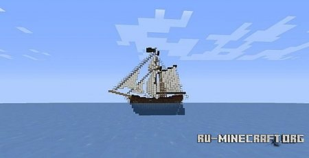 Скачать The Adventure (Pirate Sloop) для Minecraft