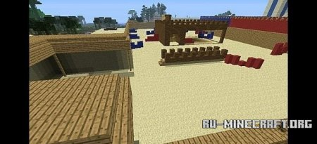 �������  Paintball maps ��� Minecraft