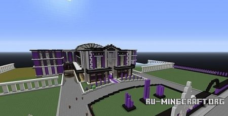 ������� Saints Row Mansion ��� Minecraft