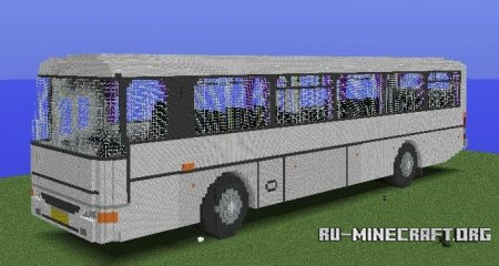Скачать Karosa C954E biggest MC bus для Minecraft