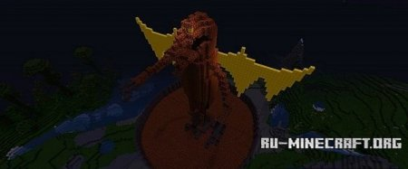 ������� Dragon Schematic ��� Minecraft