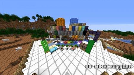 Скачать FluxCraft [16x] для Minecraft 1.8