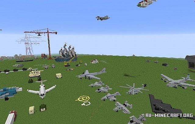 чкачать карту военой базы для майнкрафт 1.8 #9