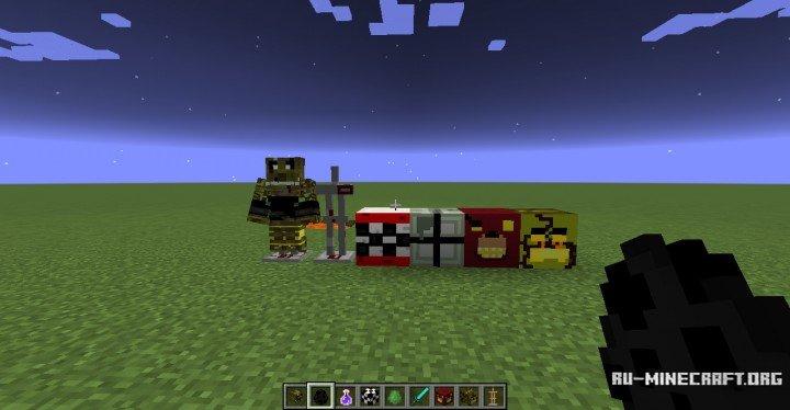 Ресурс-пак Five Nights at Freddy's для Minecraft 1.8/1.7.10