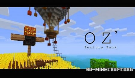 ������� OZ ' texture pack [16x] ��� Minecraft 1.8