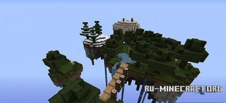 Скачать  The Floating Islands of Frosrith для Minecraft