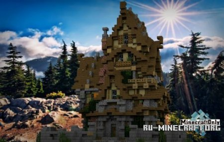 ������� TWO STORY MEDIEVAL HOUSE ��� Minecraft