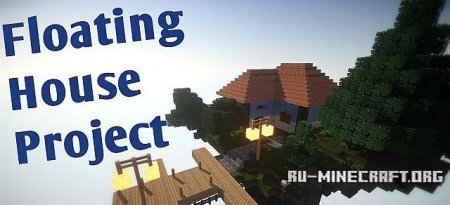 ������� Lonely House on a Floating Isle ��� Minecraft