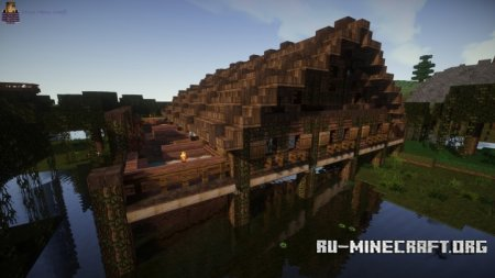 Скачать A Stilt House Town Hall In Little Debaria для Minecraft