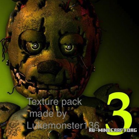 ������� Five Nights at Freddy�s 3 [16x] ��� Minecraft 1.8
