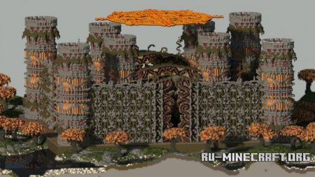 Скачать Fantasy Factions Spawn для Minecraft
