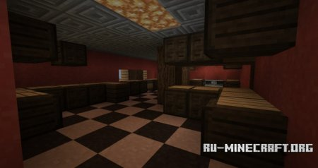 Скачать Mansion - Timesplitters 2 Recreation для Minecraft