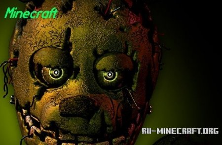 Скачать Five Nights at Freddys 3  для Minecraft
