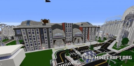 ������� Futuristic Train Station ��� Minecraft