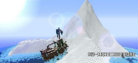 �������  Stranded in Snow ��� Minecraft