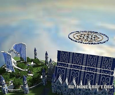 Скачать Ice God's Mansion  для Minecraft