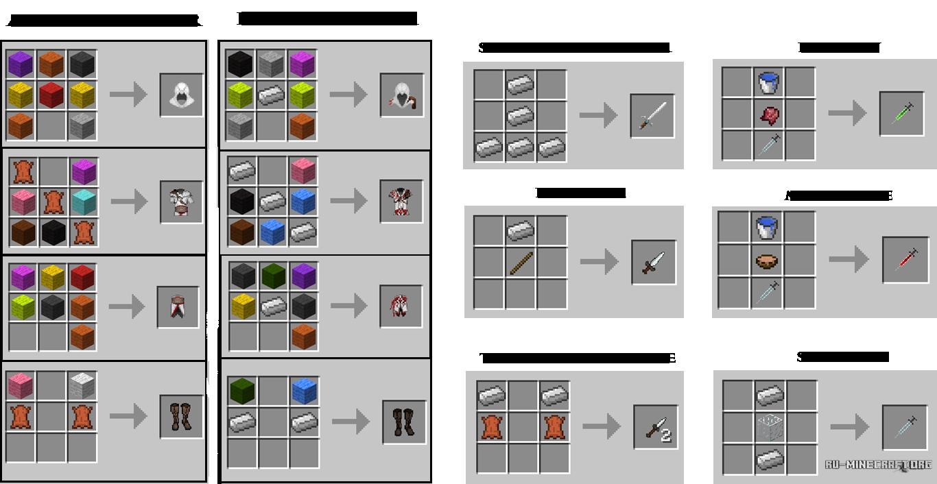 Как сделать все в миникрафте
