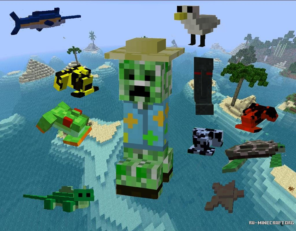 Моды для Minecraft 1.7.10 - Планета Minecraft