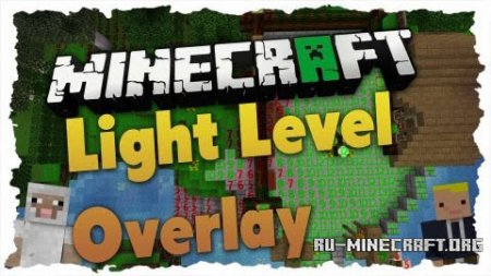 Скачать Light Level Overlay Reloaded для Minecraft 1.8