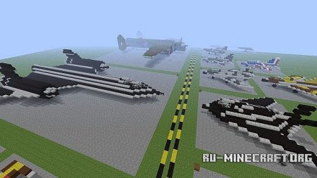 Скачать Military Museum - Fighter Aircraft, Vehicles & Boats для Minecraft