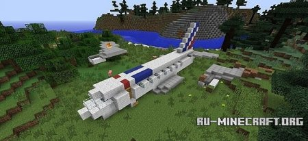 ������� airbus forest ��� Minecraft