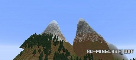 Скачать Epic mountains  для Minecraft