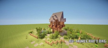 Скачать Small Cottage Design  для minecraft