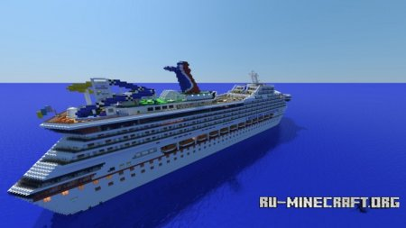 Скачать Carnival Sunshine Cruise Ship для Minecraft