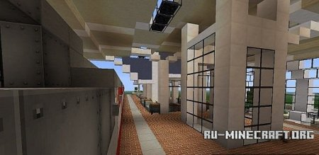 ������� Small Modern Train Station ��� Minecraft