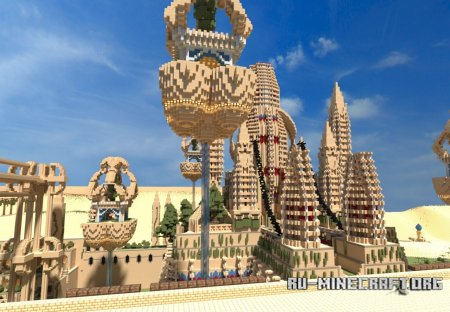 ������� Ankor Ereseth The 'Black' Temple of Ereseth  ��� minecraft