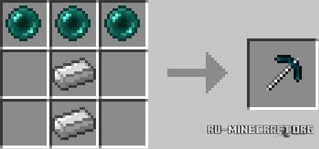 скачать мод more pickaxes для minecraft 1 8