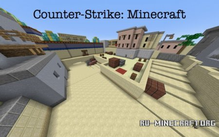 Скачать Counter Strike - Dust 2 для Minecraft
