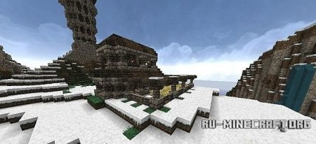 ������� Nordic Viking village ��� minecraft