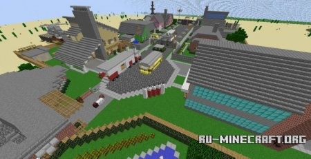 ������� Call of Minecraft: Nuketown ��� Minecraft
