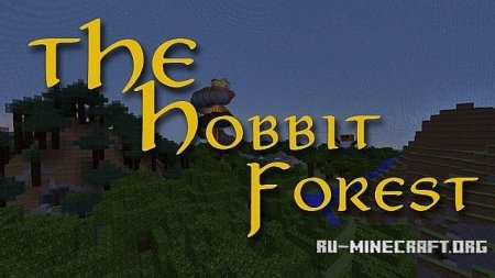 ������� The Hobbit Forest - Mini Hunger Games MAP ��� Minecraft