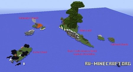 Скачать Basic South America World для Minecraft